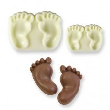 Baby Feet Pop It Mould